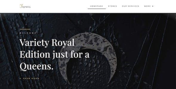 Jewella  - Jewelry Store Elementor Template Kit