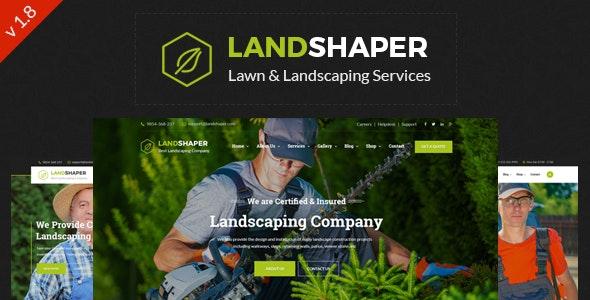 The Landshaper - Gardening & Landscaping WordPress Theme - Business Corporate