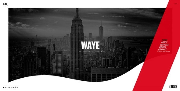 Waye || Under Construction / Coming Soon Template - Under Construction Specialty Pages