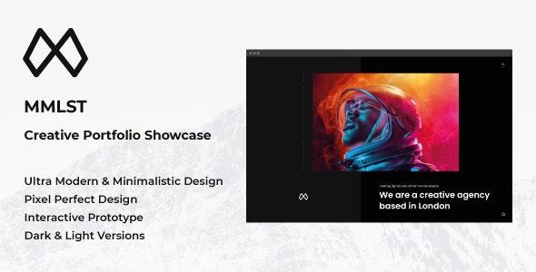 MMLST - Creative Portfolio Showcase Adobe XD Template - Creative Adobe XD