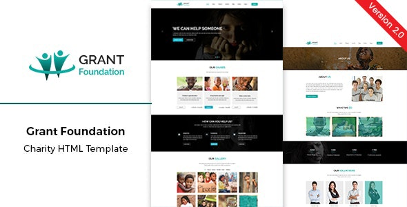 Grant Foundation – Nonprofit Charity HTML Template - Charity Nonprofit