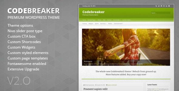 Code breaker - Blog / Magazine WordPress