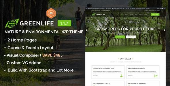 Greenlife - Nature & Environmental WP Theme - Environmental Nonprofit