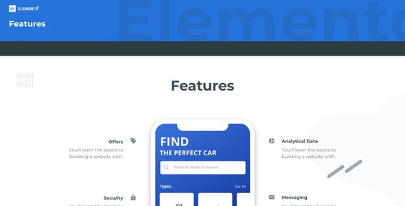 Elemento UI Kit - Components Library for Web