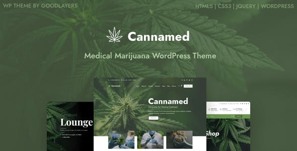 Download Cannamed - Cannabis & Marijuana WordPress
