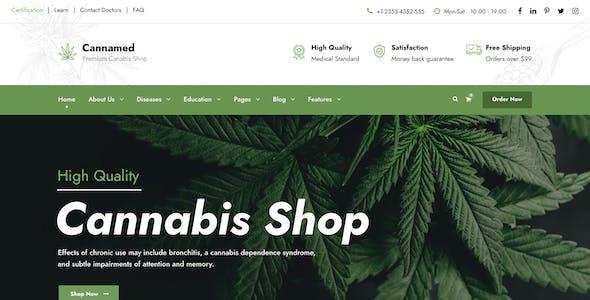 Cannamed - Cannabis & Marijuana WordPress