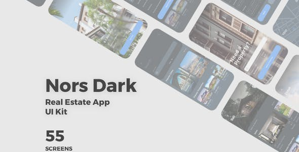 Spes Dark - Food Delivery App UI Kit