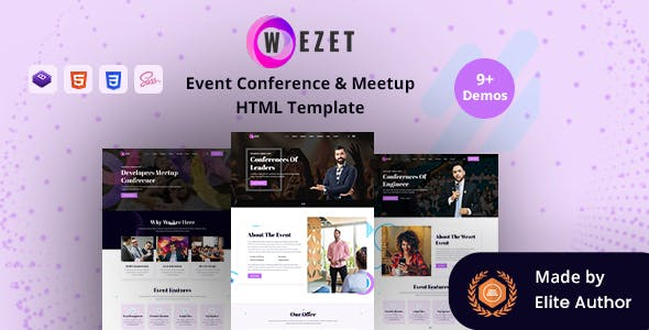 Download Wezet - Event Conference & Meetup Template