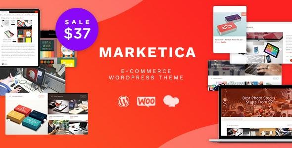 Marketica - eCommerce and Marketplace - WooCommerce WordPress Theme - WooCommerce eCommerce