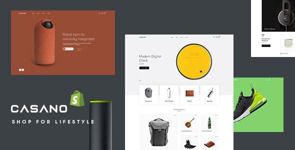 Casano - Fashion & Accessories Shopify Theme - Shopify eCommerce