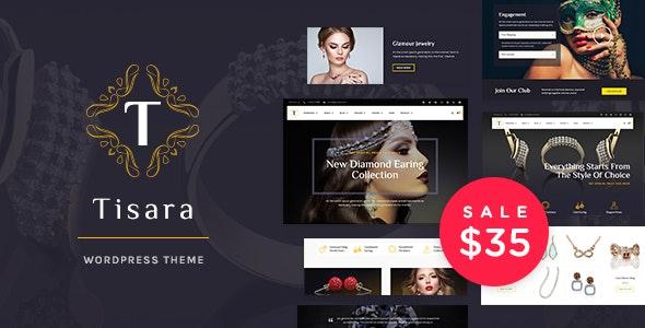 Tisara Jewelry Theme Preview