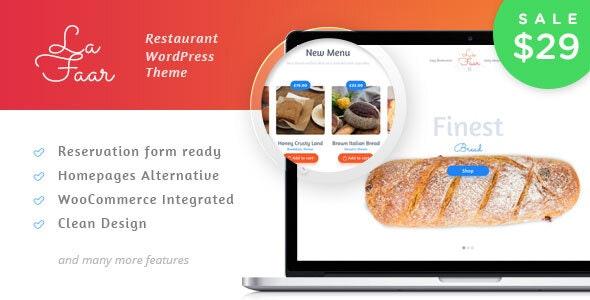 Lafaar - Restaurant & Food Menus WooCommerce Theme - WooCommerce eCommerce