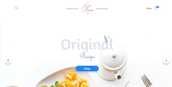 Lafaar - Restaurant & Food Menus WooCommerce Theme