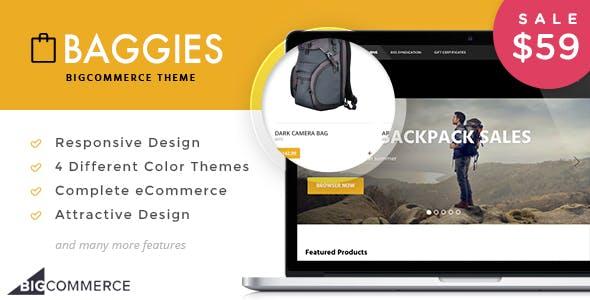 Baggies - BigCoommerce Theme for Bag Shop