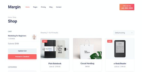 Margin   Marketing & SEO Agency Figma Template