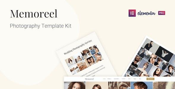 Memoreel - Photography Template Kit