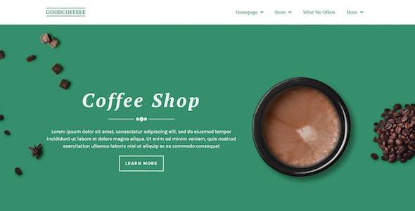 Coffesse | Cafe & Coffee Shop Elementor Template Kit