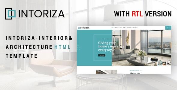 Intoriza - Interior & Architecture - Business Corporate