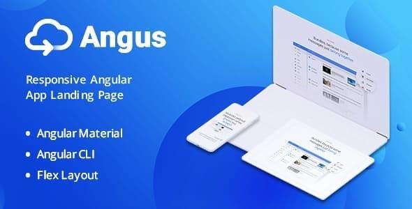 Angus - Angular App Landing Page