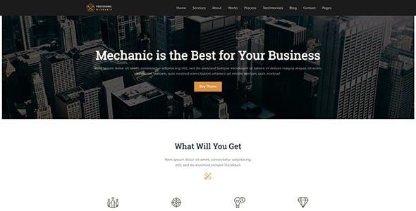 Mechanic |  Auto Repair WordPress Theme