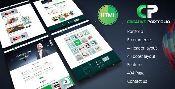 Creative Portfolio HTML Template - Portfolio Creative