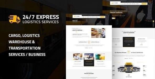 Express Logistics | Cargo WordPress - Business Corporate