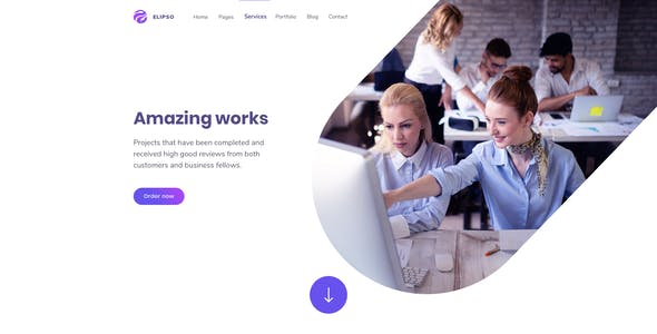 Elipso – Adobe XD Template