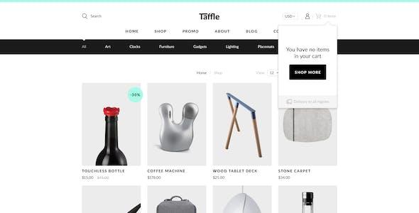 Taffle — Clean eCommerce (Shop) HTML Template
