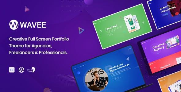Download Wavee - Creative Portfolio WordPress Theme