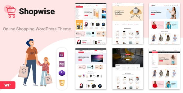 Download Shopwise - Fashion Store WooCommerce Theme