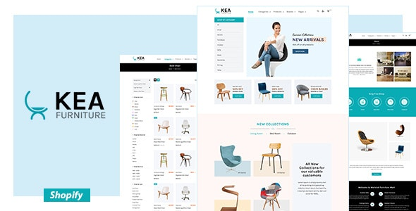Kea - Furniture Shopify Theme - Shopping Shopify