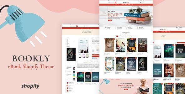 Bookly - Bookstore Shopify Theme