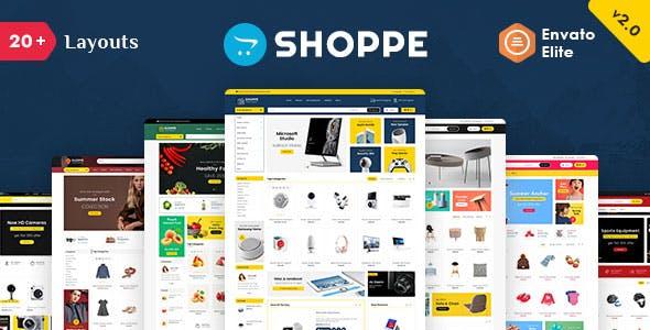 Shoppe 2.0 - Opencart 3 Multi-Purpose Responsive Theme