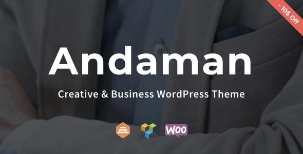 Andaman - Creative & Business WordPress Theme - Business Corporate