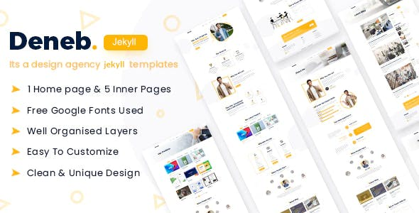 Download Deneb - Digital Agency Jekyll Template