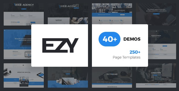 EZY - Responsive Multi-Purpose HTML5 Template - Corporate Site Templates