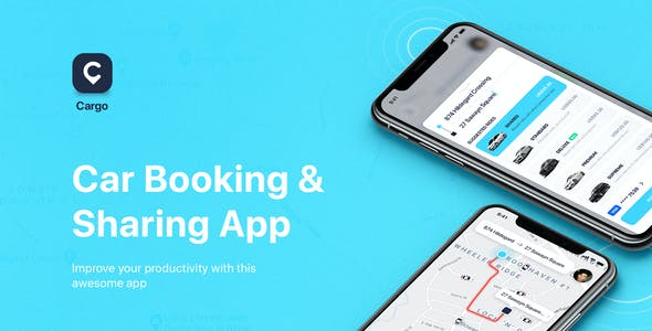 CARGO - Car Booking for Figma