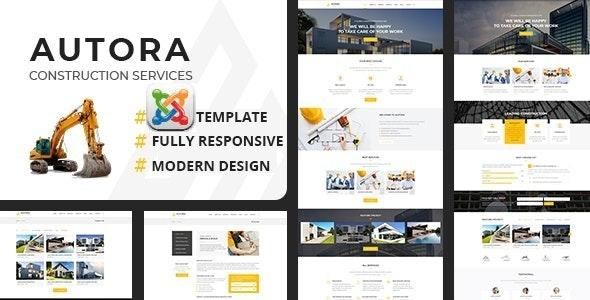 Autora - Construction Business Joomla Template - Business Corporate