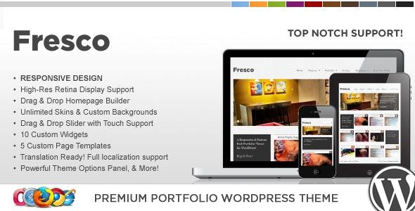 WP Fresco Responsive Portfolio Theme - Portfolio Creative