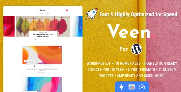 Veen Theme Preview
