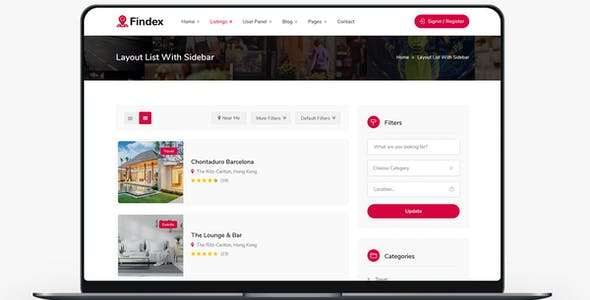 Findex - Directory Listing HTML Template