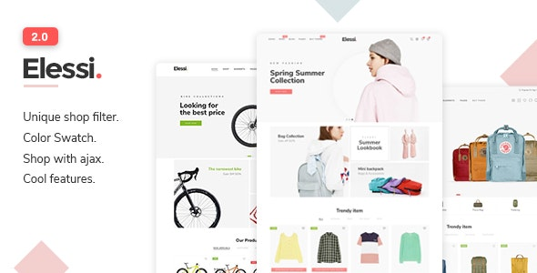 Elessi 2.0 - Responsive Shopify Theme - Fashion Shopify