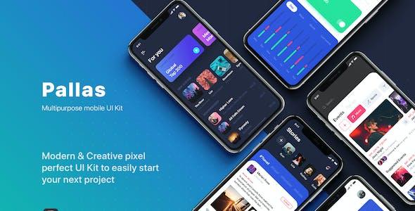 PALLAS - Multipurpose UI Kit for Figma