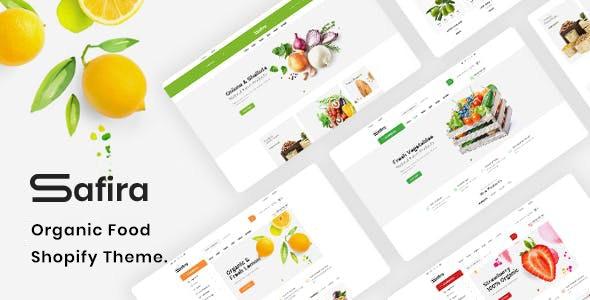 Safira Organic Food Shopify Theme