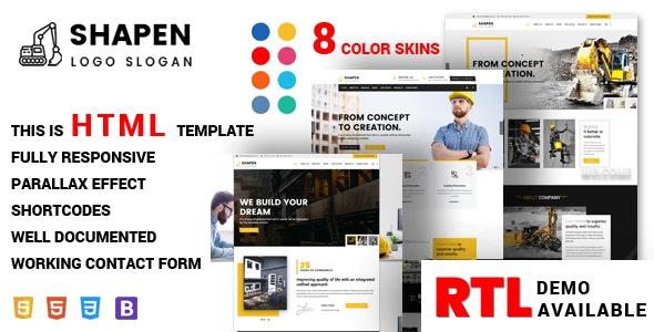Shapen - Construction - Business Corporate