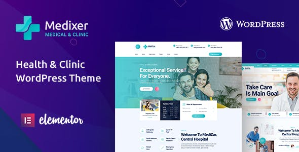 Download Medixer – Health & Clinic WordPress Theme