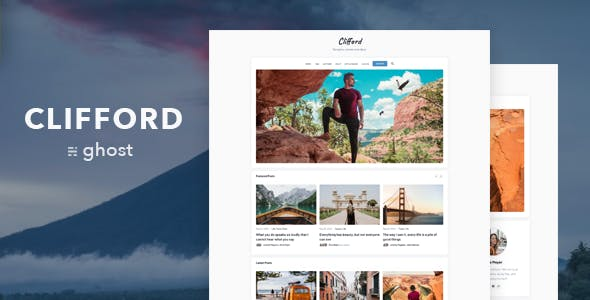 Download Clifford – Blog and Magazine Theme for Ghost