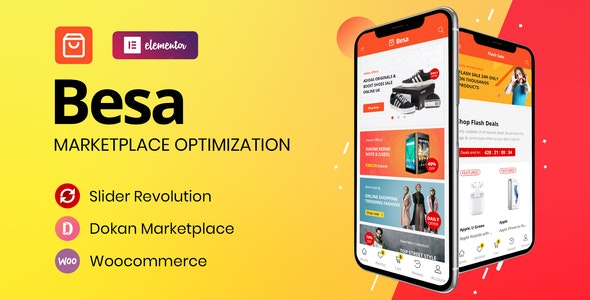 Besa Theme Preview