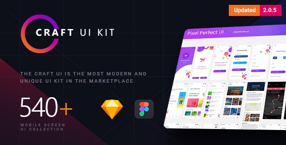Craft | A Multipurpose and Multi Business Mobile UI Kit - Business Corporate
