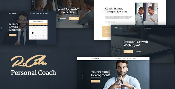 R.Cole | Life & Business Coaching WordPress Theme - Business Corporate